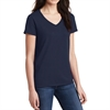 Gildan 5V00L Cotton Women's V-Neck T-Shirt - Navy 5V00L