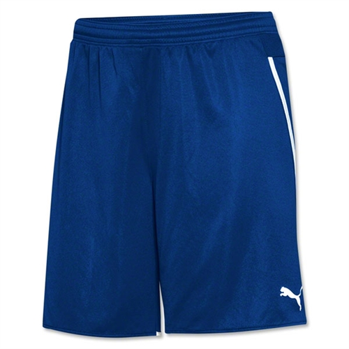 dab05a29fef Puma Women s Speed Shorts - Blue - 702062Blu - AuthenticSoccer.com