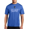 South Florida Surf Short Sleeve Performance Shirt - Blue SFSShortPTee