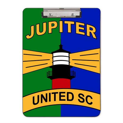 Jupiter United Clip Board CLIPBOARDTEAM17