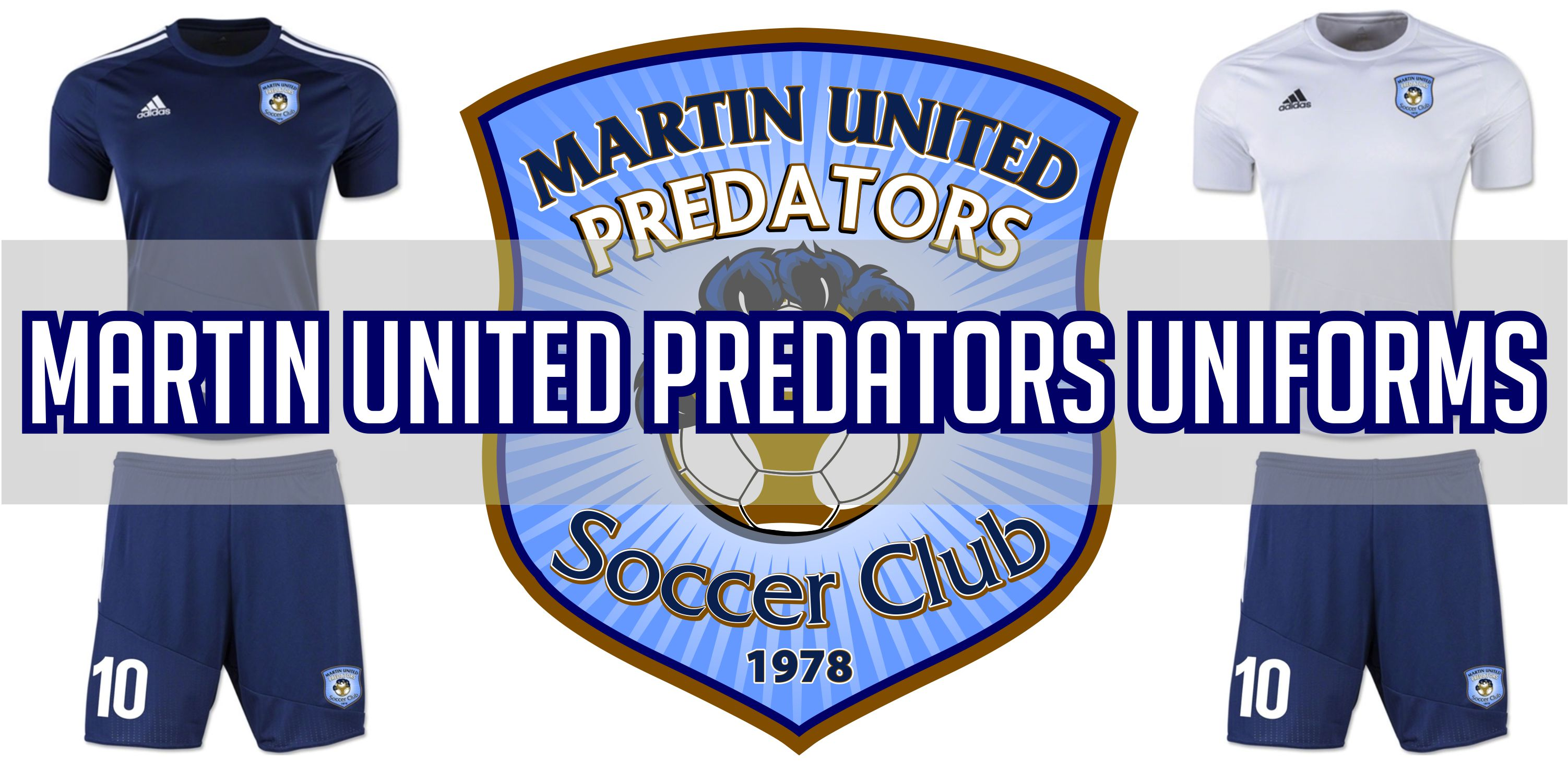 Martin United Soccer Club Uniforms