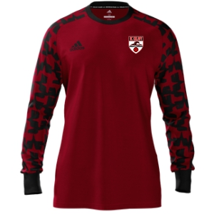AC Delray adidas Mi Assita 17 Goalkeeper Jersey - Red/Black ACD-MIAD2US37945205