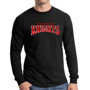 Boynton Knight Long Sleeve T-Shirt - Black G5400-BK