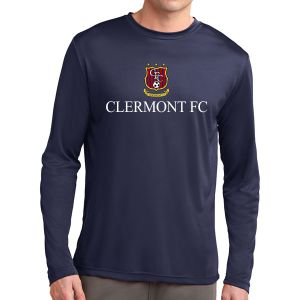 Clermont FC Long Sleeve Performance Shirt - Navy ST350LSNavy