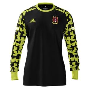 Golden Goal Sports adidas Youth Mi Assista 17 Goalkeeper Jersey - Black/Yellow GGS-MIAD2US37945204