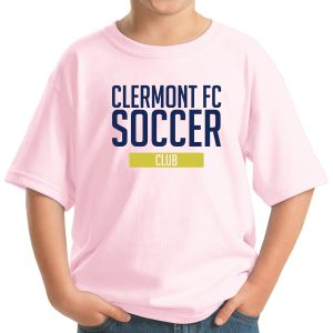 Clermont FC Youth T-Shirt - Light Pink 5400BPink