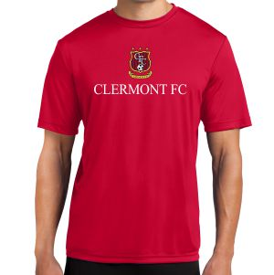 Clermont FC Performance Shirt - Red ST350Rd