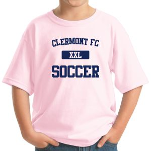 Clermont FC Youth T-Shirt - Light Pink 5000BPk