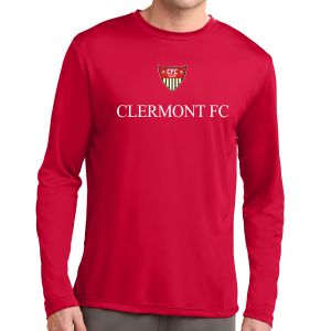 CFC Academy Select Long Sleeve Performance Shirt - Red ST350LSCFC