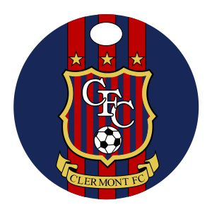 Clermont FC Custom Bag Tag BagTagCFC