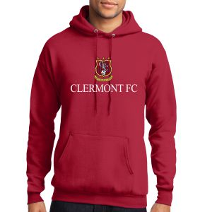 Clermont FC Hooded Sweatshirt - Red PC78HRd