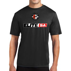 Elite Short Sleeve Performance Shirt - Black Elite-PTee