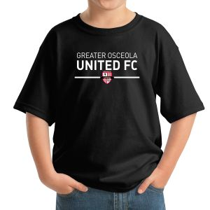 Greater Osceola United Youth T-Shirt - Black 5000BBlk