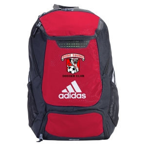Hobe Sound Soccer Club adidas Stadium Team Backpack - Red 5136883-HS