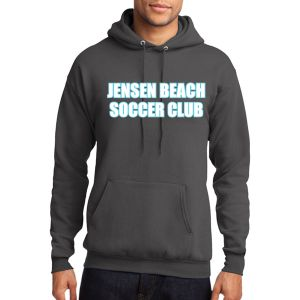 Jensen Beach Hooded Sweatshirt - Grey Jen-HoodS