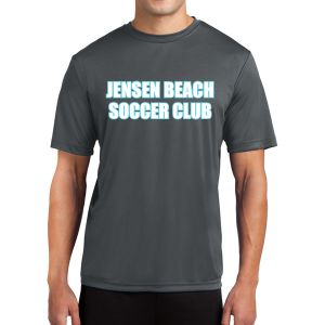 Jensen Beach Short Sleeve Performance Shirt - Grey Jen-PTee