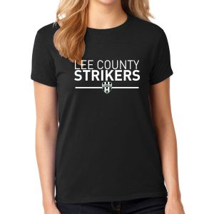 Lee County Strikers Women's T-Shirt - Black G5000L-Blk