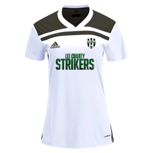 Lee County Strikers adidas Women's Regista 18 Jersey - White/Black LCS-CE8957