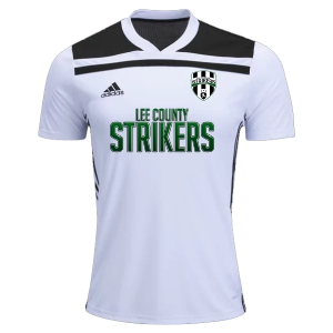 Lee County Strikers adidas Regista 18 Jersey - White/Black LCS-CE8968
