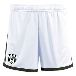Lee County Strikers adidas Women's Regista 18 Short - White/Black LCS-CF9585