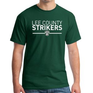 Lee County Strikers T-Shirt - Forest Green G500-LCSFG