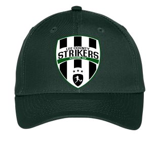 Lee County Strikers Custom Hat - Forest Green C913-FG