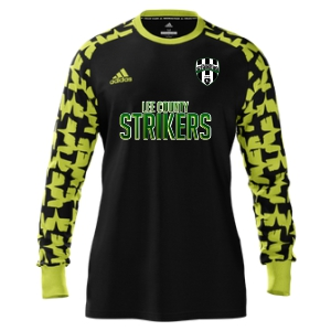Lee County Strikers adidas Youth Mi Assita 17 Goalkeeper Jersey - Black/Yellow LCS-MIAD2US37945204