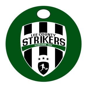Lee County Strikers Custom Bag Tag BagTag-LCS