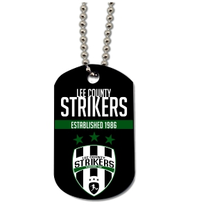 Lee County Strikers Custom Dog Tag DogTag-LCS
