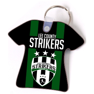 Lee County Strikers Custom Key Chain CustomKeychain-LCS