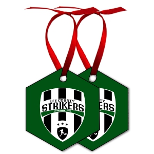 Lee County Strikers Custom Holiday Ornament Ornament-LCS