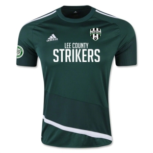 Lee County Strikers adidas Regista 16 Jersey - Collegiate Green/White LCS-AP0531