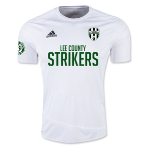 Lee County Strikers adidas Youth Regista 16 Jersey - White/White LCS-AJ5867
