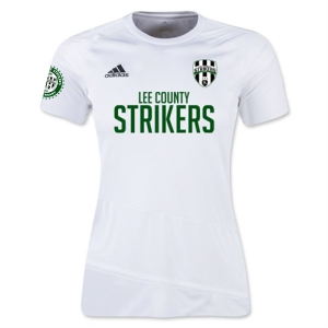 Lee County Strikers adidas Women's Regista 16 Jersey - White/White LCS-AJ5863