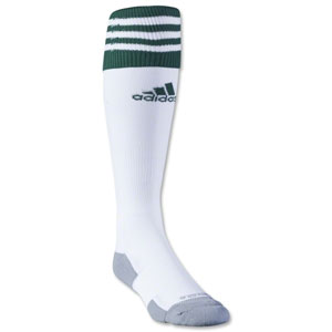 adidas Copa Zone Cushion II Socks - White/Green 5130260