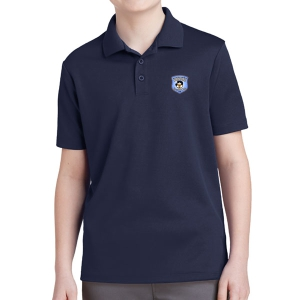 Martin United Youth Polo Shirt - Navy YST640-MU