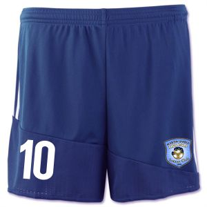 Martin United Soccer Club adidas Women's Regista 16 Short - Dark Blue/White AP1869