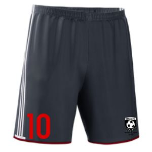 Massive adidas Men's Condivo Short - Dark Grey/White MassAdiConShoBlk