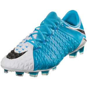 Nike Hypervenom Phantom III FG - Photo Blue/White 852567-104