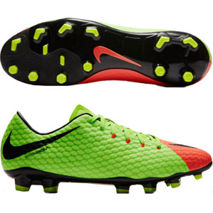Nike Hypervenom Phelon III FG - Electric Green/Black 852556-308