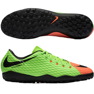 Nike HypervenomX Phelon III TF - Electric Green/Black Turf 852562-308