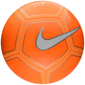 Nike Premier League Pitch Soccer Ball - Orange/Citrus/White SC2994-815