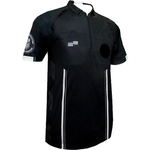 Official Sports USSF Pro Referee Jersey - Black 9072