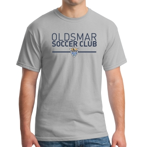 Oldsmar Soccer Club T-Shirt - Grey G5000-OSCG