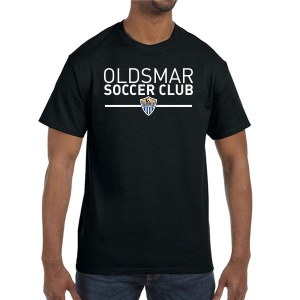 Oldsmar Soccer Club T-Shirt - Black G5000-OSCB