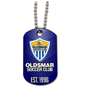 Oldsmar Soccer Club Custom Dog Tag DGTG-OSC