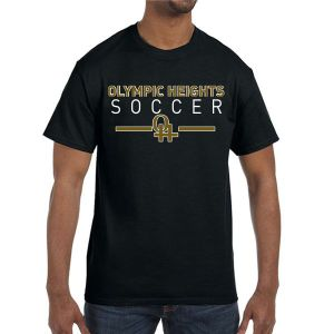 Olympic Heights T-Shirt - Black G500-OH