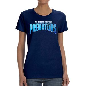 PBG Predators Women's T-Shirt - Navy PBG-WTee