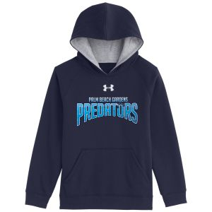 UnderArmour Youth Armour Fleece Team Hoodie - Navy - PBG Predators 1237619-Y