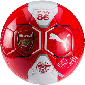 Puma Arsenal Fan Ball Soccer Ball - Red 082742-01